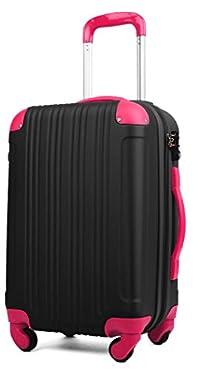 (レジェンドウォーカー) LEGEND WALKER 超軽量 Wファスナー容量アップ拡張機能付 【一年修理保証】 TSAロック搭載 スーツケース (17色機内持込から4サイズ) おしゃれでかわいい キャリーケース スムーズな移動が可能な静音4輪タイプ