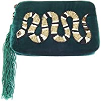 From St Xavier Women's Venom Coin Purses & Pouches, Emerald, OneSize
