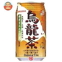 サンガリア おいしい烏龍茶 340g 缶×24本