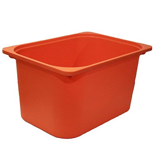 RoomClip商品情報 - IKEA TROFAST トロファスト 収納ボックス オレンジ