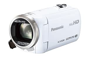 Panasonic デジタルハイビジョンビデオカメラ 内蔵メモリー32GB ホワイト HC-V550M-W