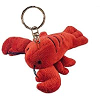 Puzzled Lobster Plush Keychain by Getting Fit [並行輸入品]