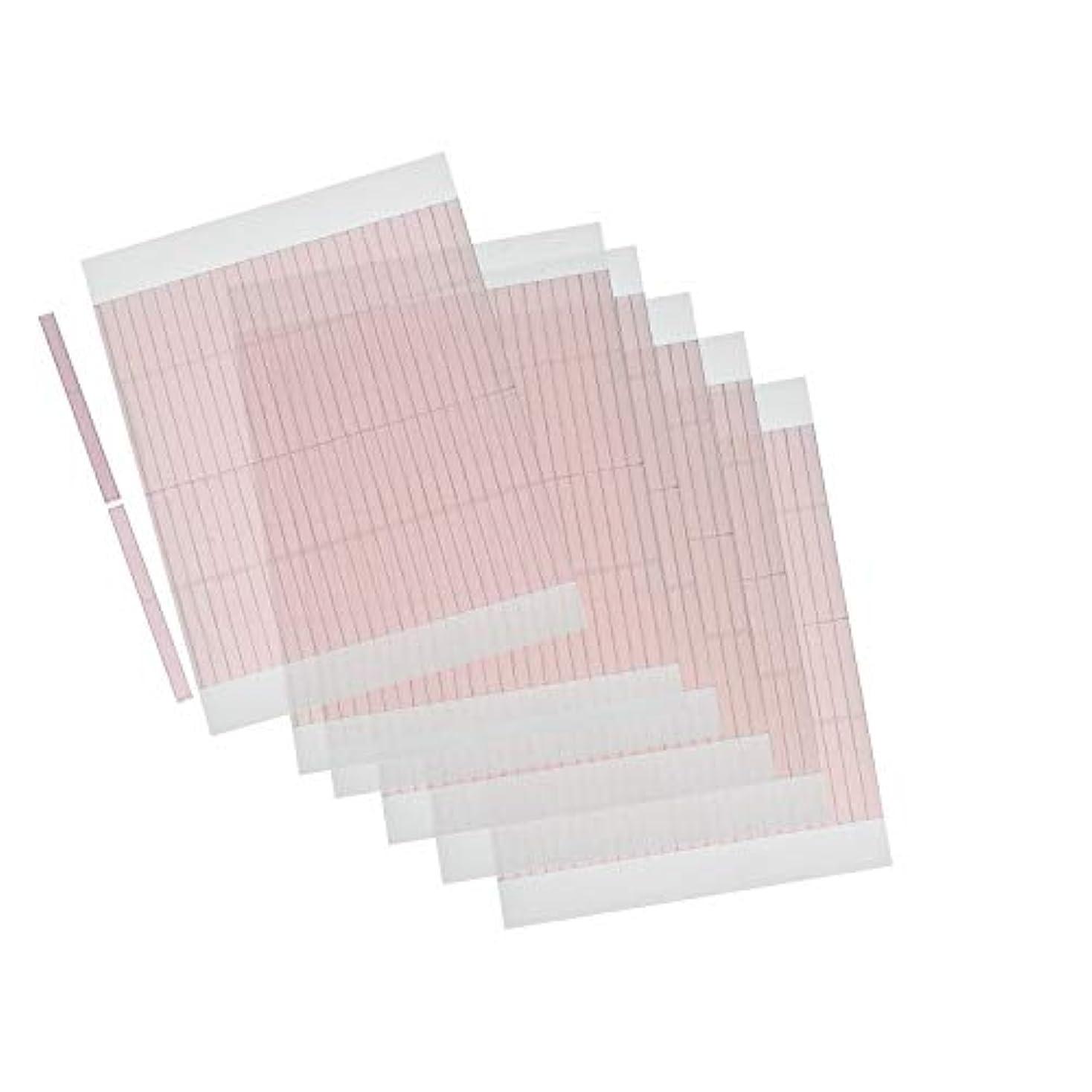 徐々にチチカカ湖露m.tivance アイテープ 二重瞼形成 二重テープ 5シートセット 260本入り/アイテープ5枚セット