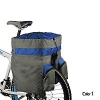 自転車サイクル 簡易防水 アウトドア サドルバッグ 大容量 荷物預ける【代引可】DCTB05-1