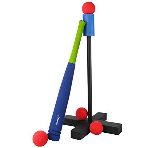 ( 아완키 ) Aoneky batting 티 티 세트 야구 배트 스펀지제 어린이용 장난감 안전 안심-