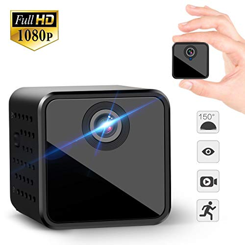 TUANA 超小型隠しカメラ WIFIカメラ 1080P H...