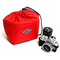 MOUTH マウス カメラケース SMALL EATER スモール イーター インナーケース 巾着 MIB18063 収納 クッション 一眼レフ (RED)