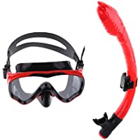 Sharplace 全7選択 子供用 スキューバダイビング トレーニング ゴーグル マスク シュノーケルセット