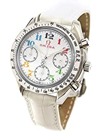 f1096c408f オメガ OMEGA スピードマスター 3836 70 トリノ オリンピック コレクション レディース 腕時計 ...