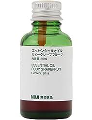 【無印良品】エッセンシャルオイル30ml (ルビーグレープフルーツ)