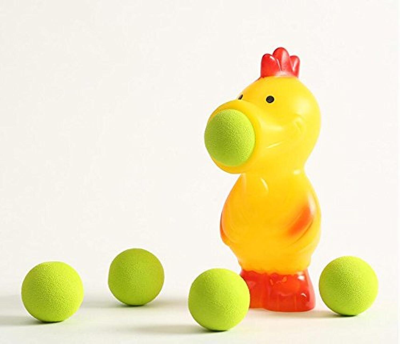 幼児期のゲーム クリエイティブスクイズ減圧Spitボール動物玩具ソフトシェル子供のおもちゃ(鶏)