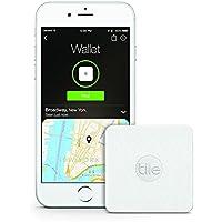 Tile Slim 新型タイルスリム(Gen3)!Tile2より60%薄くなりました。厚み2mm。 Tileからスマホを呼び出せます! iPhone/Android Bluetooth 鍵、財布、貴重品等の紛失防止 - 日本語説明書付属 30日間保証(簡易包装版) [並行輸入品]