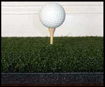 3' x4'ゴリラPerfect Reactionゴルフマット。使用Real Wood Tees。At Last a No Bounce、ヒットDown & Throughゴルフマット。次の世代のゴルフマット。No。必要なゴムTeesNo Club衝撃13/ 4インチ厚。