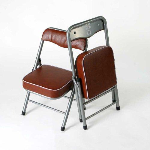 折りたたみ椅子 ちょいがるチェア(ライトブラウン)