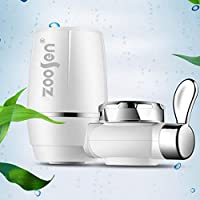 MolySun ホームキッチン水道水浄水器蛇口水フィルターシステム 白