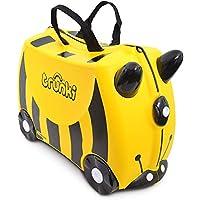 Trunki Children's Ride-On Suitcase & Hand Luggage: Bernard Bee (Yellow)
