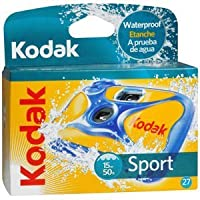 3- Pack Kodakスポーツ27exp 50フィート防水カメラ