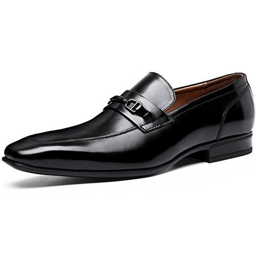 (フォクスセンス) Foxsense ビジネスシューズ 紳士靴 革靴 ビットタイプ 本革 ブラック 25.5CM 6710