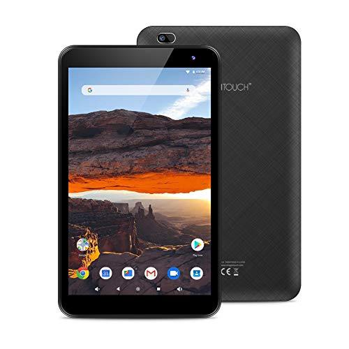Dragon Touch タブレット 8インチ 800*1280解像度IPSディスプレイ Android8.1搭載 RAM2GB/ROM16GB デュアルカメラ WiFiモデル Bluetooth接続 Kidoz対応 子供にも適用 日本語対応 ゲーム用タブレットY80