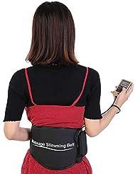 ベルト、腹部療法のマッサージベルトの電気パルスのウエストの苦痛救助ボディスリミング筋肉刺激装置を細くするマッサージの刺激物