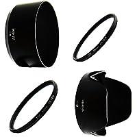 Vintage Club Nikon 互換 レンズフード フィルター Wセット 一眼レフ D3400 D5600 D5300 ダブルズームキット レンズ対応