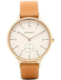 スカーゲン 時計 SKAGEN SKW2405 ANITA アニタ レディース腕時計ウォッチ ブラウン/ホワイト [並行輸入品]