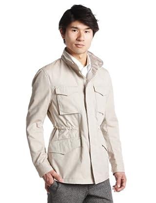Oxford Type M-65 Jacket 51-18-0117-012: Beige