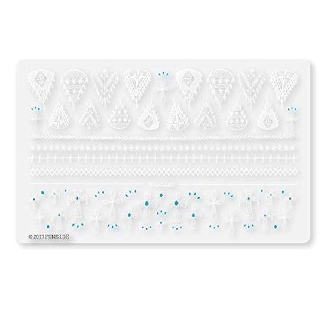 解く先行する増幅器Crochet + クロシェクロス ネイルシール ネイルステッカー クロス エスニック