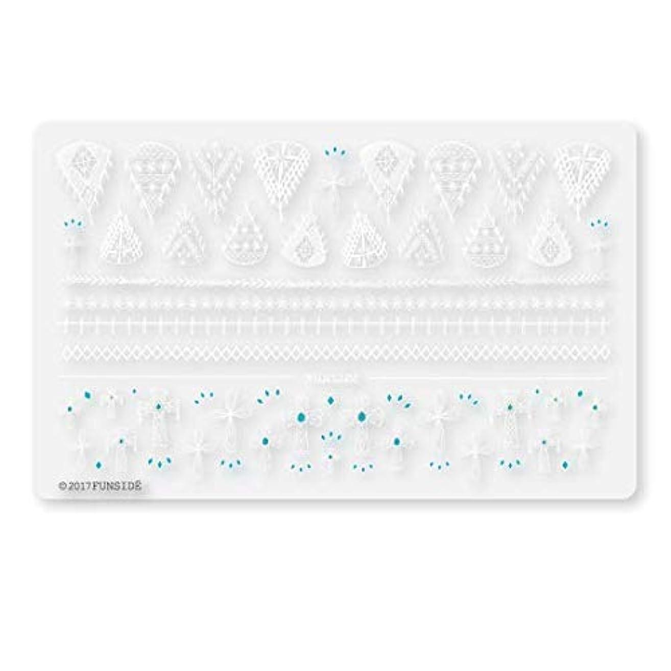 ポジションコインひそかに未硬化ジェル対応 Crochet + クロシェクロス ネイルシール ネイルステッカー クロッシェ クロス エスニック ボヘミアン 貼りやすい 貼るだけ 極薄シート 日本製