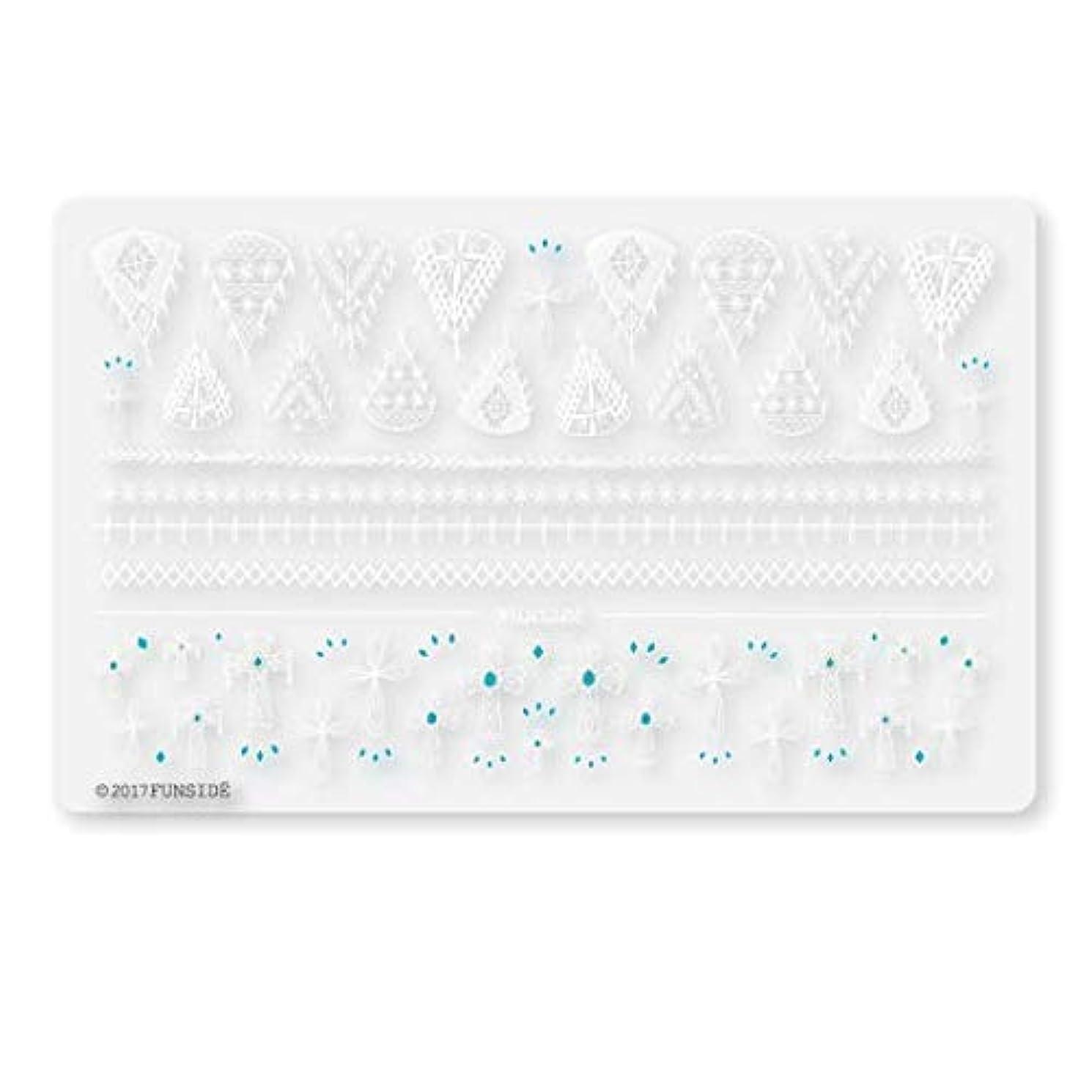 責める温帯再生可能未硬化ジェル対応 Crochet + クロシェクロス ネイルシール ネイルステッカー クロッシェ クロス エスニック ボヘミアン 貼りやすい 貼るだけ 極薄シート 日本製