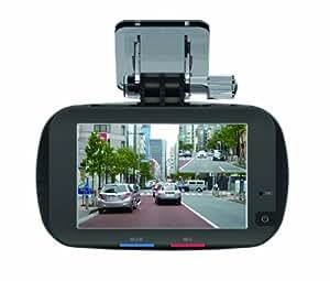 KEIYO(ケイヨウ)HDドライブレコーダー GPS常時録画 3インチタッチパネル液晶 フロントカメラ200万画素+リアカメラ30万画素 駐車モード監視カメラ搭載 12V/24V対応 AN-R015 AN-R015