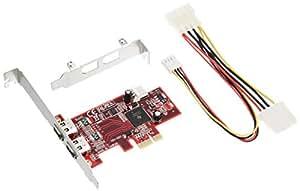 玄人志向 インターフェースボード IEEE1394a PCI-Express x1 IEEE1394-PCIE
