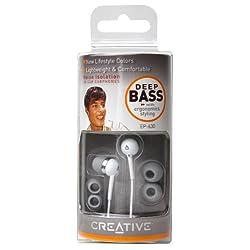 Creativeインナーイヤーイヤフォン EP-630 ホワイトモデル EP-630TE-WT