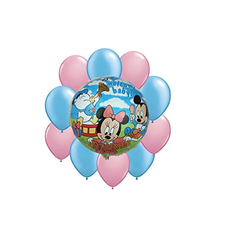 ディズニーミッキーマウスWelcome Babyバルーンブーケ11pc