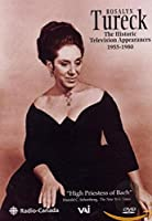 Rosalyn Tureck: the Historic Television Broadcasts [DVD] [Import]