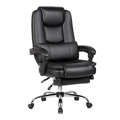 オフィスチェア 椅子 イス デスクチェア リクライニング PCチェア プレジデントチェア 事務用 黒