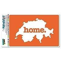 スイスホームカントリー MAG-NEATO'S(TM) ビニールマグネット - 固体オレンジ
