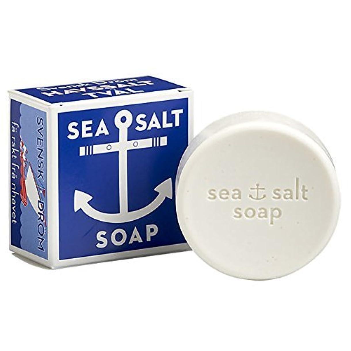 コメンテーターコメンテータートランジスタSwedish Dream Sea Salt Invigorating Bath Soap - One 4.3 oz Bar by Swedish Dream [並行輸入品]