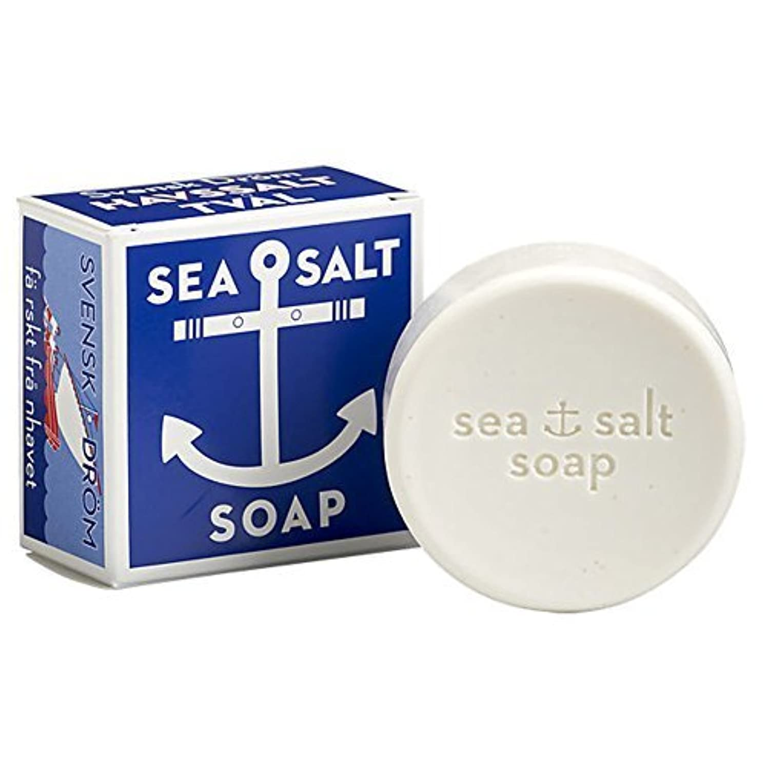 溶岩影のある忘れられないSwedish Dream Sea Salt Invigorating Bath Soap - One 4.3 oz Bar by Swedish Dream [並行輸入品]