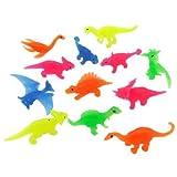 縁日すくい すくい恐竜カラー(50ー70mm) 100個入り  / お楽しみグッズ(紙風船)付きセット
