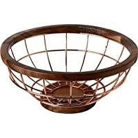 CQ フルーツバスケットクリエイティブ家庭フルーツバスケットリビングルームの装飾ステンレス鋼ゴールデンモダンフルーツプレート