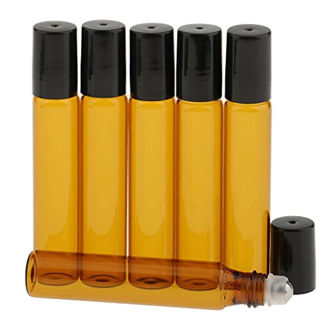 租界見習い追うT TOOYFUL 香水分装 化粧ボトル ガラスロール 詰め替え可能 旅行用 光避けデザイン 6本入り