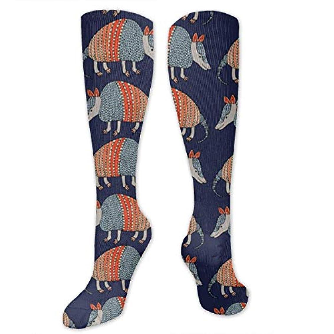 超えて百年地区靴下,ストッキング,野生のジョーカー,実際,秋の本質,冬必須,サマーウェア&RBXAA Armadillo Pattern Socks Women's Winter Cotton Long Tube Socks Knee...