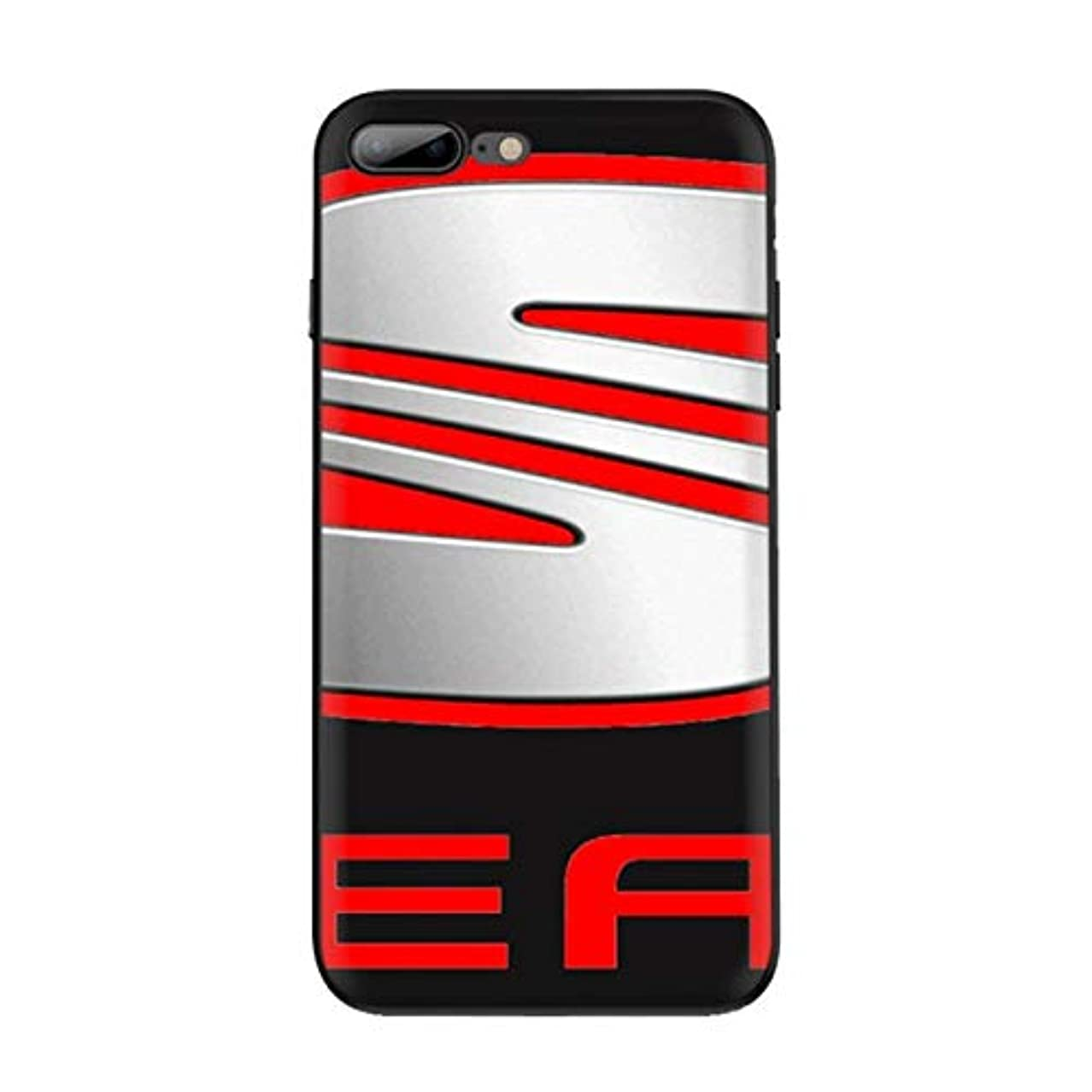 レンディション大胆不敵ダースIPhone 6 6S 8 7プラスIPhone 11のPro X XR XS最大5 5S SE TPU素材に適した携帯電話ケース車のロゴの携帯電話ケース (Color : B7, Material : For iphone X)