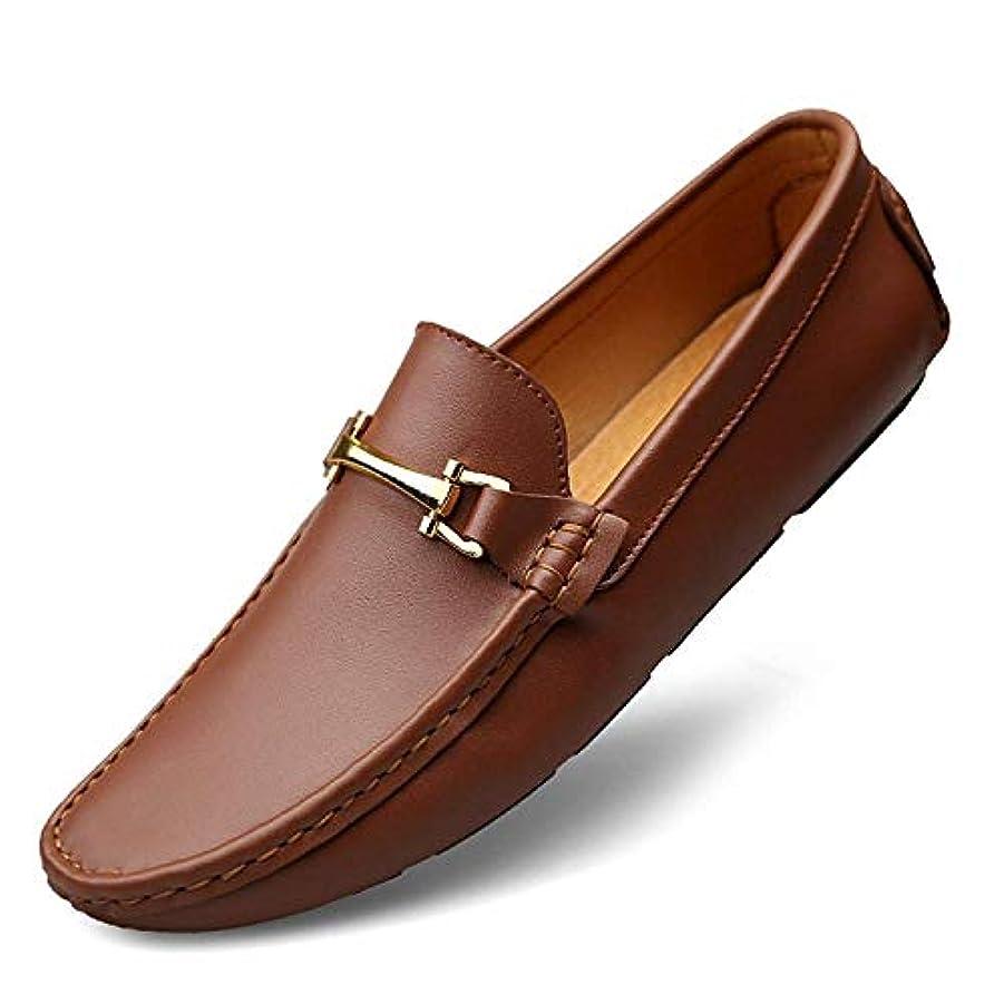 スロベニアのホストメトロポリタンカジュアルシューズ メンズ 24.0cm-27.5cm ローカット 耐久性 柔らかい 歩きやすい 滑り止め お洒落 スリッポン メンズシューズ ビジネスシューズ ドライビングシューズ 紳士靴 男性用靴 就職活動 ブラウン