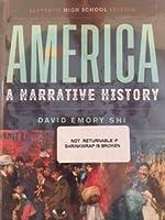 America: A Narrative History (Full Eleventh High School Edition) [並行輸入品]