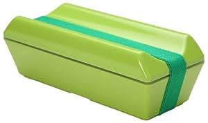 三好製作所 保冷剤一体型 ランチボックス GEL-COOL fit PECO (凹) グリーン GC-099