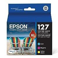 Epson t200シリーズインクカートリッジ、ブラック/シアン/マゼンタ/イエロー