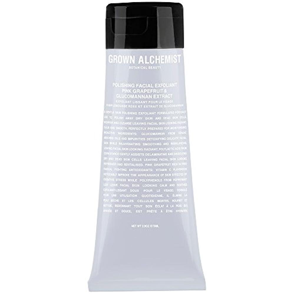 目的悪質なシェア成長した錬金術師研磨顔の角質ピンクグレープフルーツ&グルコマンナンエキス75ミリリットル (Grown Alchemist) (x6) - Grown Alchemist Polishing Facial Exfoliant...