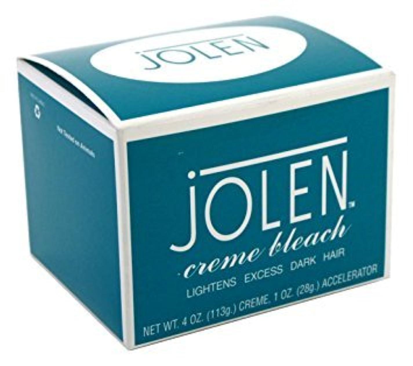 馬鹿幸福高潔な箱つぶれ Jolen ジョレン 眉用ブリーチクリーム  レギュラー 大きなサイズ 4オンス [並行輸入品]